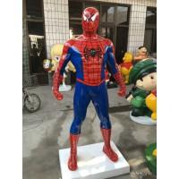 玻璃钢雕塑-蜘蛛侠
