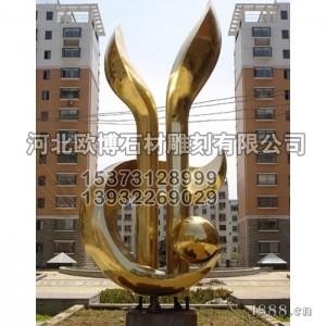 不锈钢雕塑_城市雕塑