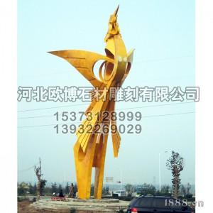 不锈钢雕塑_小区雕塑_城市雕塑