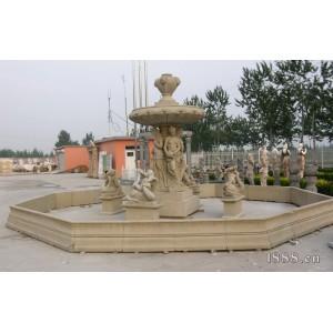 石雕喷泉-人物喷泉