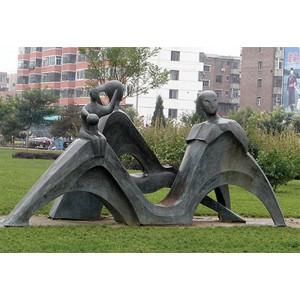 铜雕抽象雕塑
