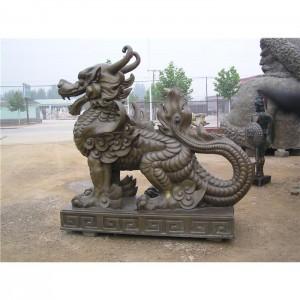 铜雕-TDW-1001-麒麟