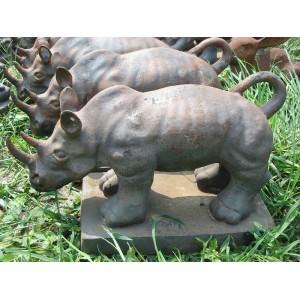 铸铁动物-犀牛-hrdw-1002