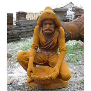铸铁人物雕塑-hrrw-1002